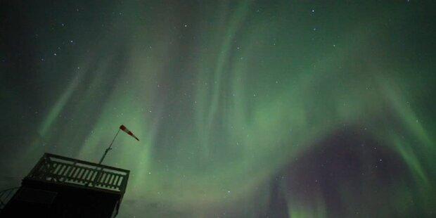Sonnensturm führt zu Polarlichtspektakel