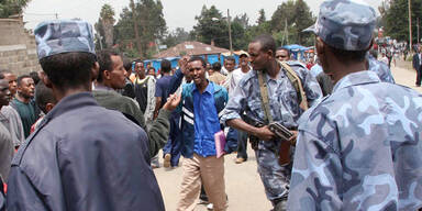 Polizei Äthiopien