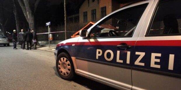 Alko-Lenkerin krachte in Polizeiauto