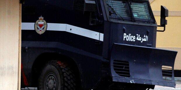 Bombe verletzte vier Polizisten