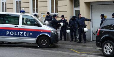 Polizei Besetztes Haus