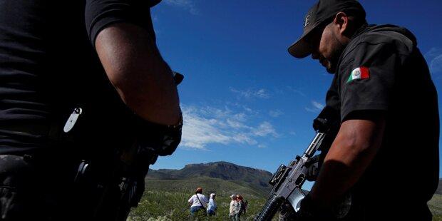 Drogen-Abschussrampe an US-Grenze entdeckt