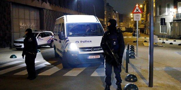 Anti-Terror-Razzia in Molenbeek: Drei Festnahmen