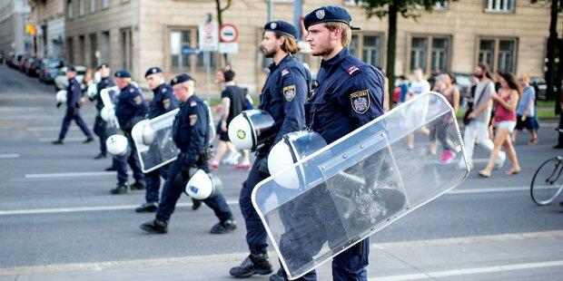 Alarm: Polizei vor Pleite