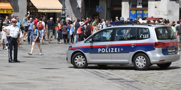 Polizei Stephansplatz