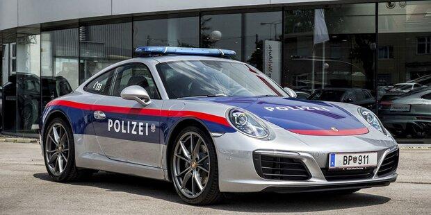 Polizei-Porsche stoppte Alkolenker auf A9