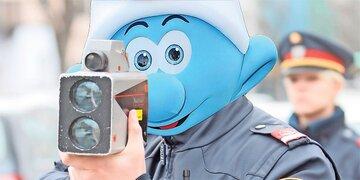 Lenker warnte online vor Blitzer: Cops Schlümpfe genannt: Tiroler 'nur' verwarnt