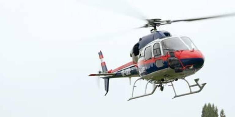Verirrte Wanderin mit Hubschrauber gerettet
