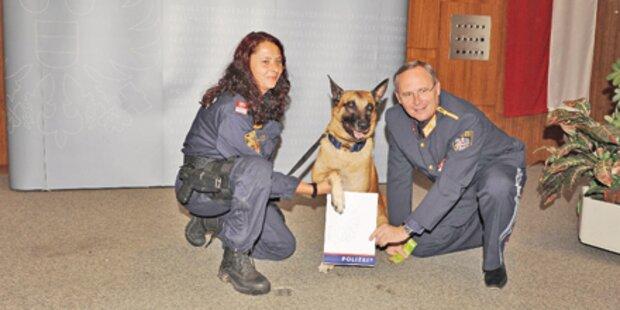Polizei-Hund Verdi biss General Mahrer