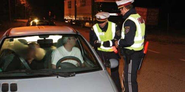 Betrunkener nahm sieben Beifahrer mit