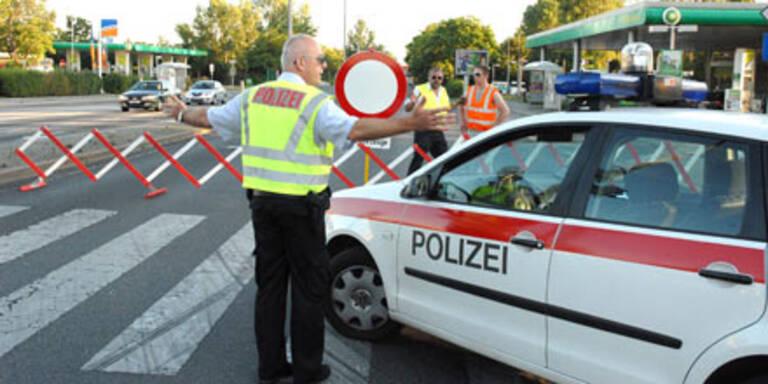 Polizeisperre - Symbolfoto