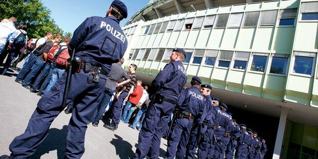Zusätzliche 250 Polizisten für Wiener Silvester