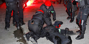 Polizist tot: Hooligan-Krieg in Bilbao