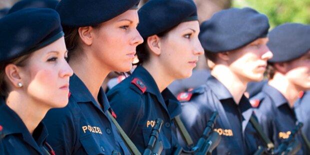 Polizistinnen immer öfter Prügel-Opfer