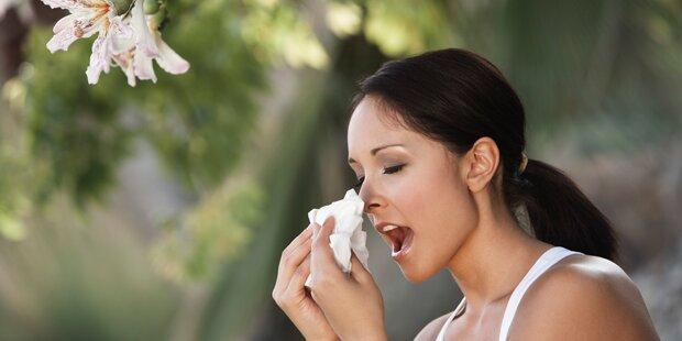 Augen vor Pollen schützen