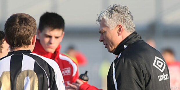 Trainer Toni Polster startet mit LASK Juniors