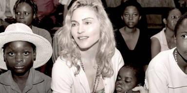 Popstar Madonna im Interview