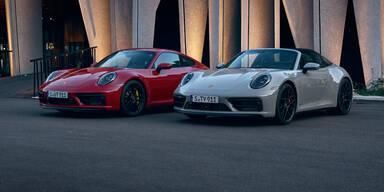 Aktuelle Porsche 911-Reihe jetzt auch als GTS