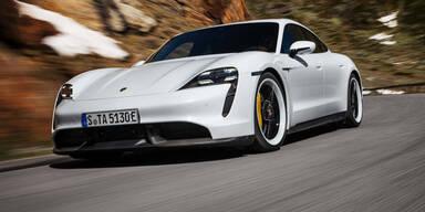 Porsche bringt erste Taycans auf Facelift-Niveau