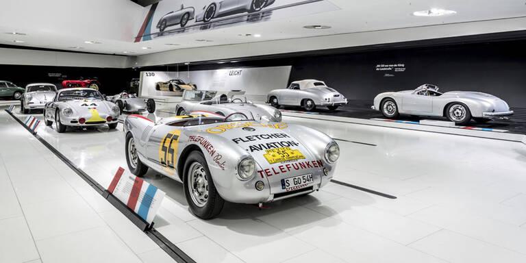Porsche-Schau als Highlight im Jubiläumsjahr