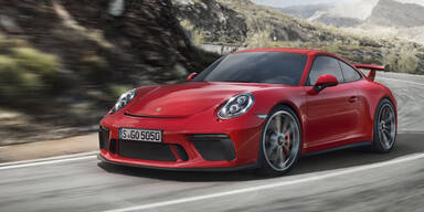 Neuer 911 GT3: Sauger und Handschaltung