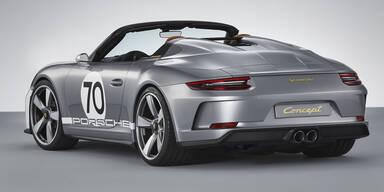 Porsche bringt neuen 911 Speedster