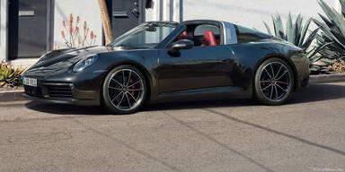 Neuer Porsche 911 jetzt auch als Targa