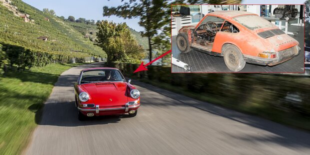 Hier fährt Porsches ältester 911