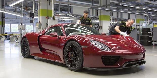 Porsche beendet 918 Spyder-Produktion