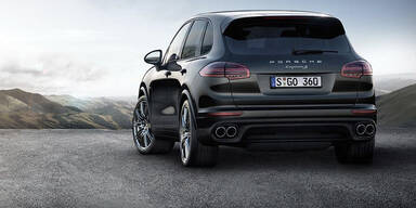 Porsche bringt neue Cayenne S Modelle