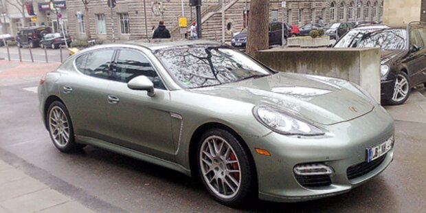 Autobande stahl Musters Porsche