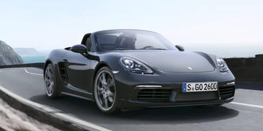 Das ist der neue Porsche 718 Boxster