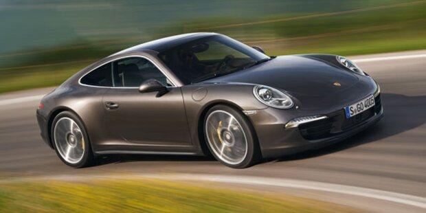Porsche stellt neuen 911 Carrera 4/4S vor