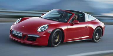 Porsche bringt den 911 Targa 4 GTS