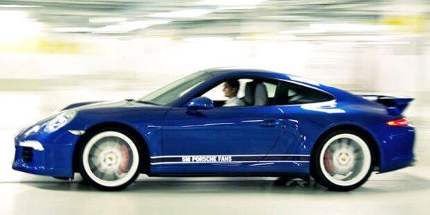 21-Jähriger schrottet Porsche