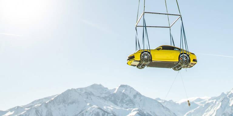 Porsche 911: Spektakuläre Österreich-Präsentation