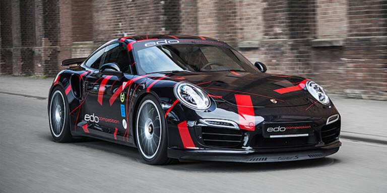 Edo möbelt den Porsche 911 Turbo auf