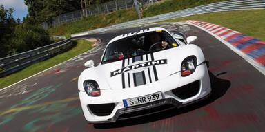 Porsche 918 Spyder knallte Fabelzeit hin