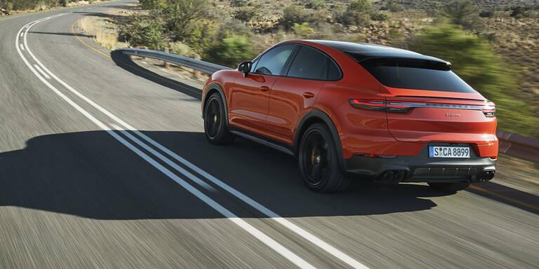 Porsche greift mit Cayenne Coupé an