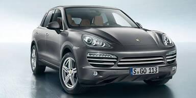 Porsche Cayenne als Platinum Edition
