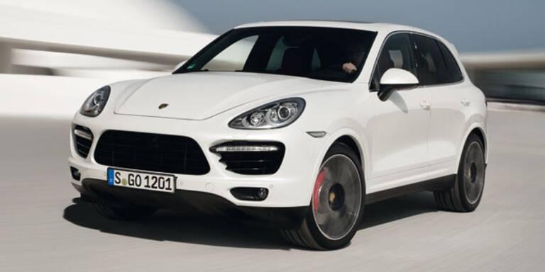 Porsche bringt den Cayenne Turbo S