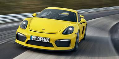 Das ist der Porsche Cayman GT4