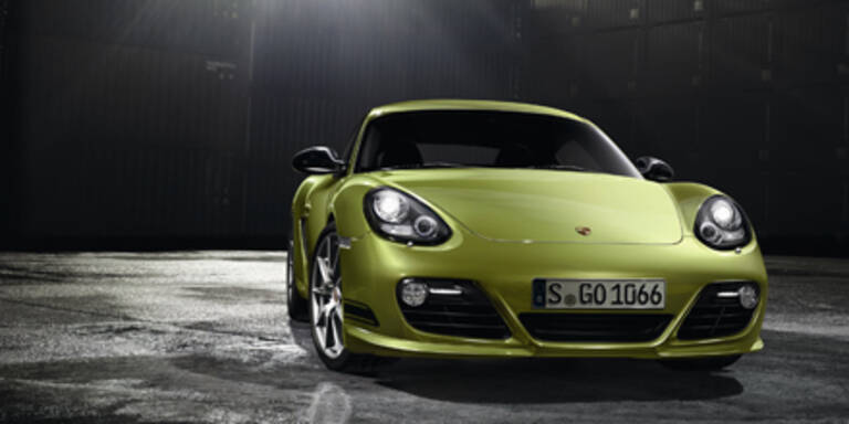 Weltpremiere des Porsche Cayman R