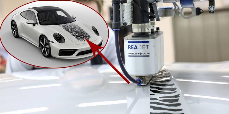 Porsche revolutioniert Karosserie-Lackierung