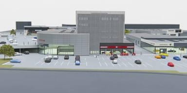 Wien bekommt neues Mega-Autohaus
