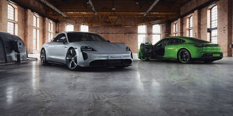 Porsche Exclusive veredelt den Taycan