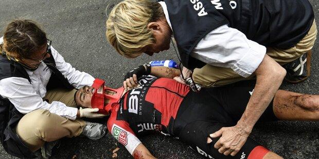 Porte nach Horror-Sturz schwer verletzt