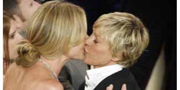 Ellen DeGeneres & Portia de Rossi haben geheiratet