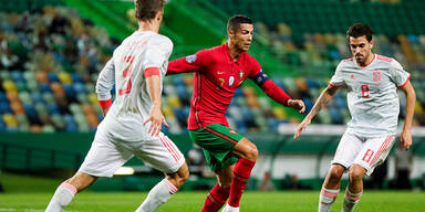 Ronaldo & Co. im Test-Kracher bei Spanien