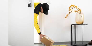 Post stellt Pakete in Wohnung zu1